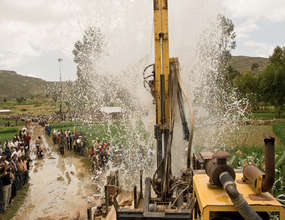 charity: water Report, Pt 3: Drilling rig