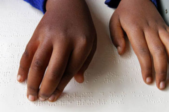 Braille Books for Children in Bolivia