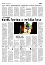 Family farming original article in Cape Times (PDF)