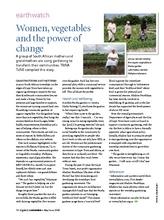 Organic Gardeners Magazine article May/June 08 (PDF)