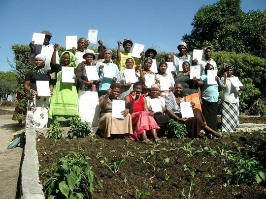Trainees get certificates in Basic Agriculture