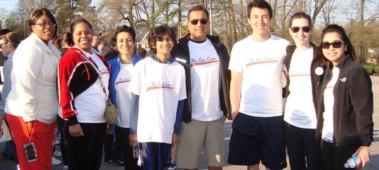 The Eye Center Team at The Great Human Race