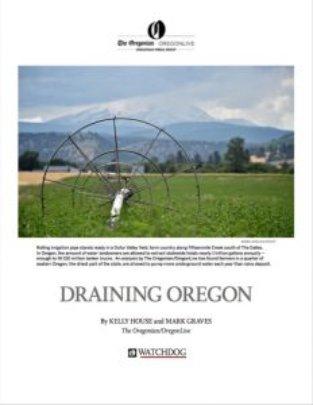 Draining Oregon