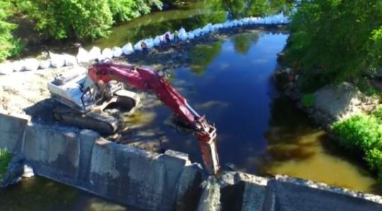 Dam Removal - Phase 2
