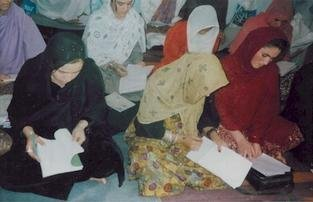 Literacy Classes: An Investment in Afghan Women