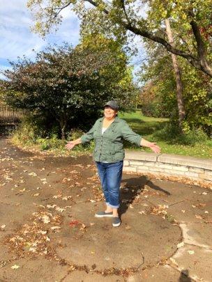Amy Arndt at Indian Mounds Regional Park