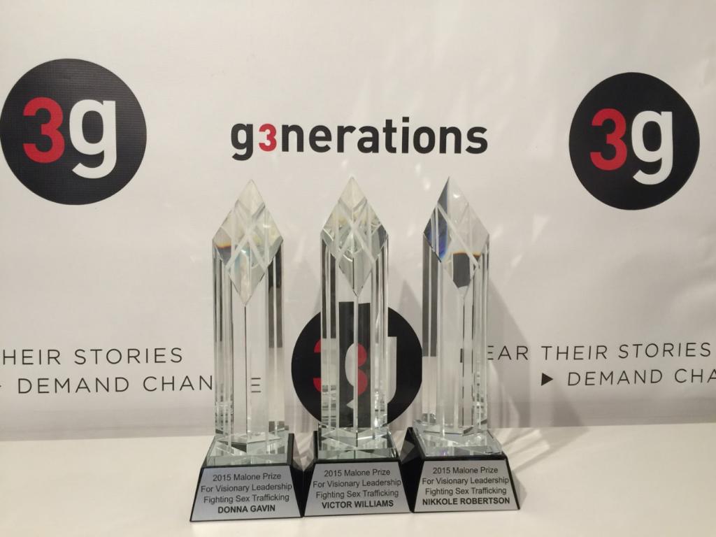 2015 Malone Prize Awards