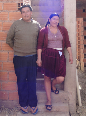 Edgar and Felicia, two of our micro-credit clients