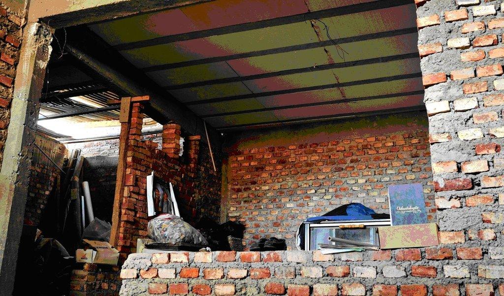 Construction work in Delia