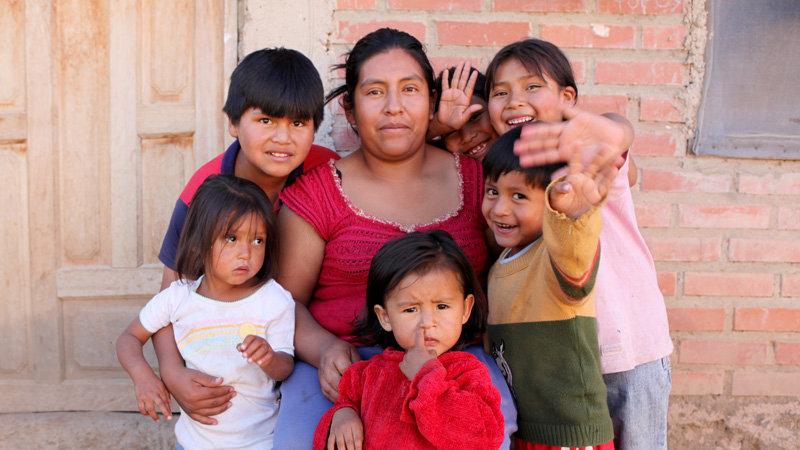 Doña Soledad and her children