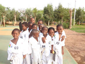 Children In Taekwondo Gear