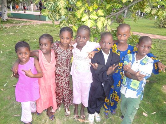 ACFA Children at the park