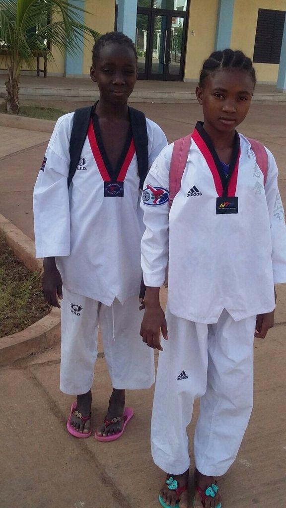 Children at Taekwondo