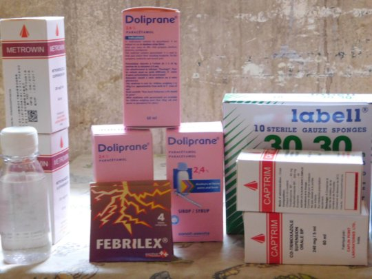 Received medication from Mali Djigui