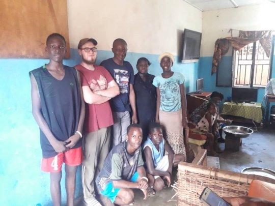Volunteers' visit