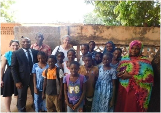 ACFA-Mali Children with Betsy
