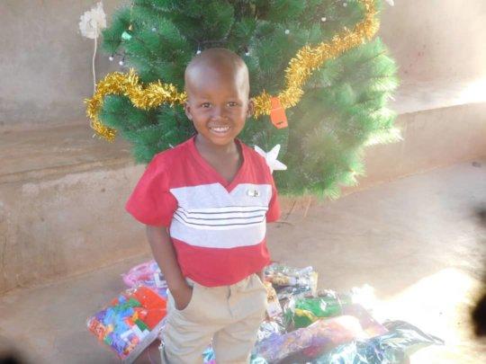Yacouba on Christmas Eve