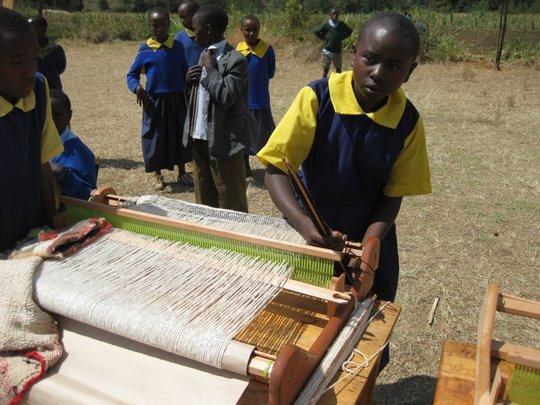 Mukinyai student exhibits acquired hands-on skills