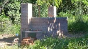 Camino Verde's Adam Retort biochar oven