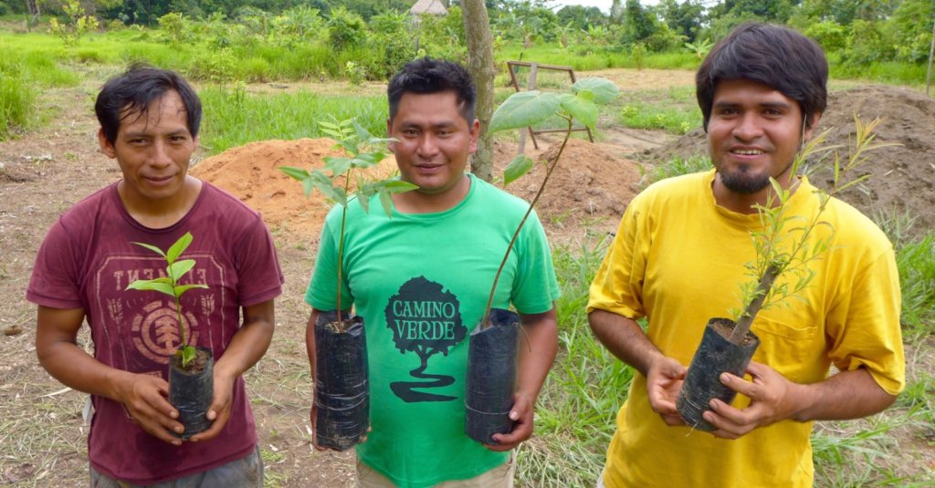 Camino Verde staff at our new nursery