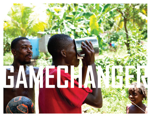 Gamechanger Bucket = Access to Clean Water + Sport