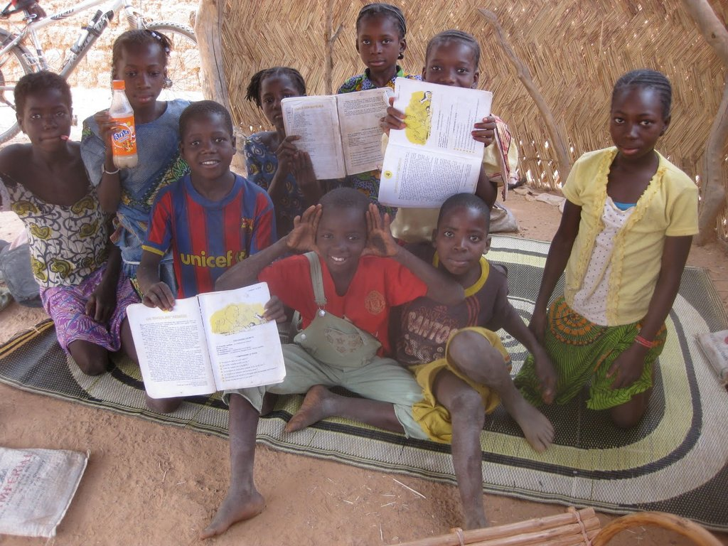 Provide a Rural African Village Library with Books