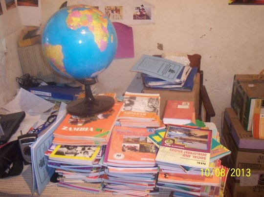 Lots of new Books at the School