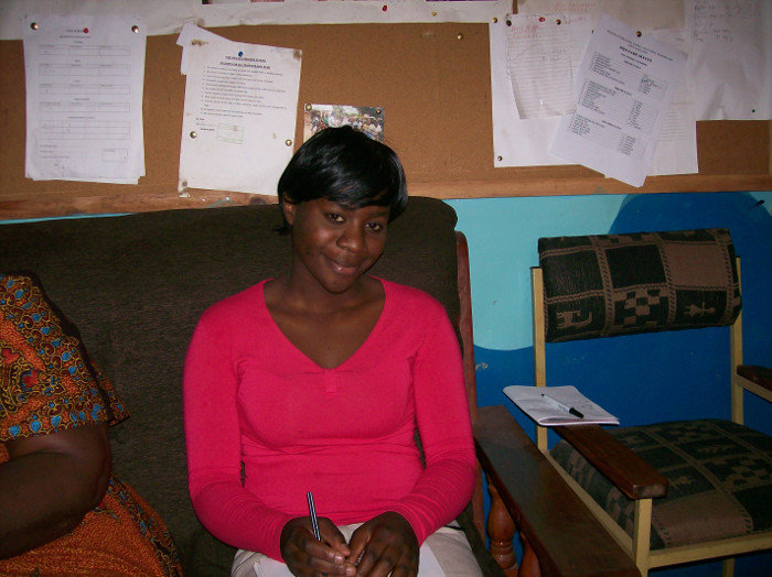 Mawini, now a medical student in Lusaka