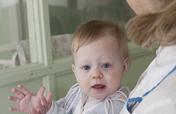 Nursing care for orphan children in hospitals