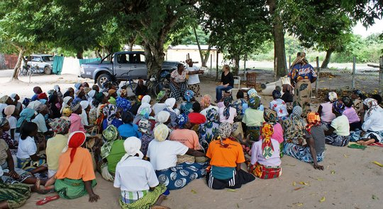 Traditional Midwives in Training