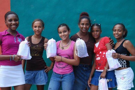 Mariposa Girls with LunaPads