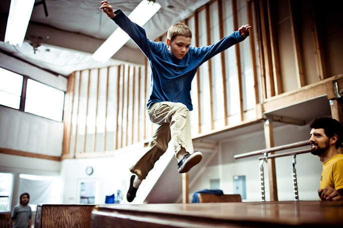 Parkour Gym to Reach More At-Risk Youth
