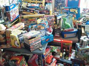 Toys from the 2011 Holiday Gift Drive