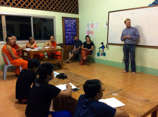 English class for the Social Worker Workshop