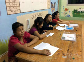 Special CLC English class for our workshop