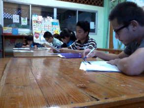 CLC's intermediate English class
