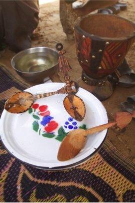 Inaden spoons & spice mortars