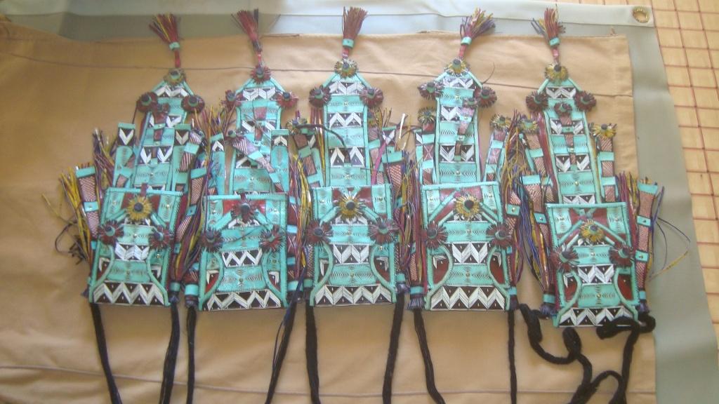 """Albaye"" traditional Tuareg wallets"