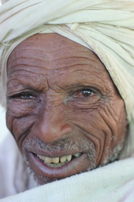A happy patient in Ethiopia