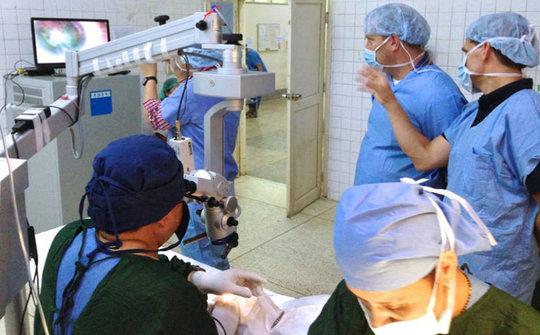 Eye care in Myanmar