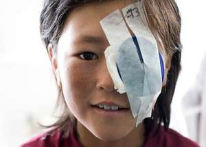 Child in Ladakh, photo by Ace Kvale