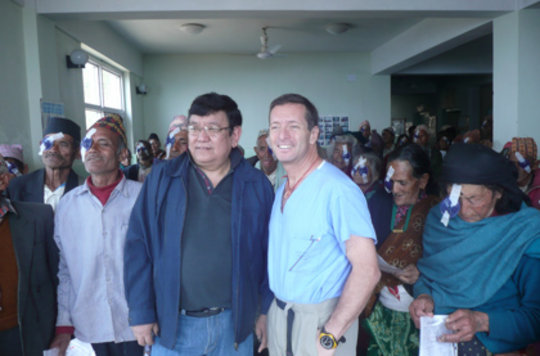HCP Co-Directors Dr. Ruit and Dr. Tabin