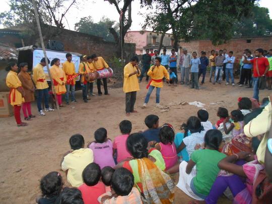 Street Play on Trafficking
