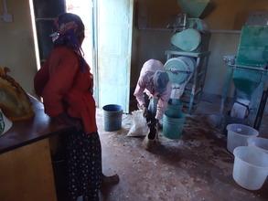 Michael: Mrs. Wambui_cassava project beneficiary