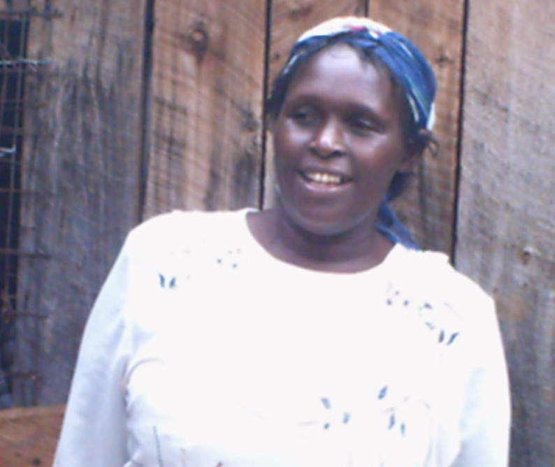 Dennis: Mrs Kinoti_solar power beneficiary
