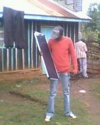 Dennis's solar panel project