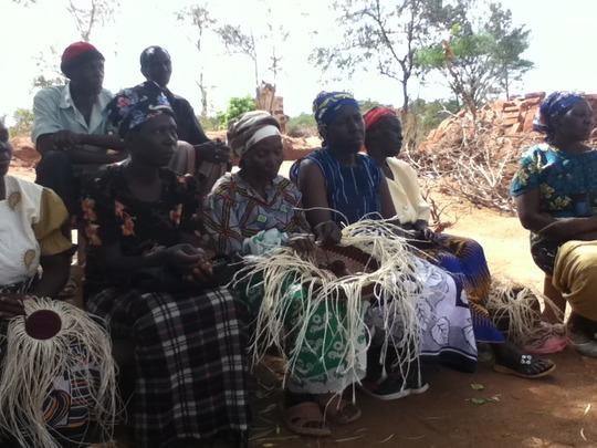 Brian: Women's group making sisal bags
