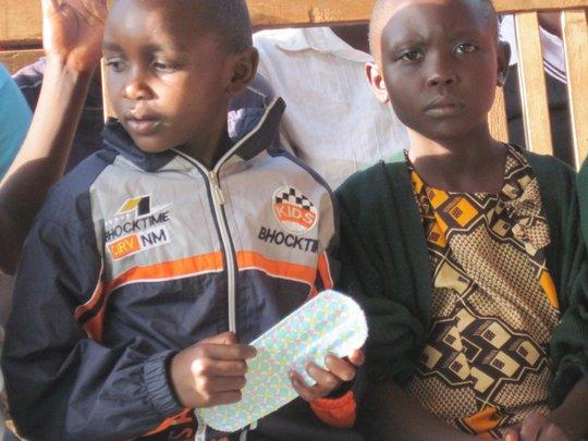 Nafisa's sanitary towel project