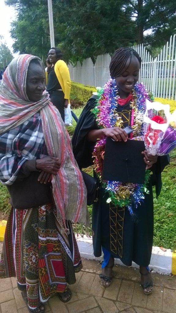 Eunita at graduation