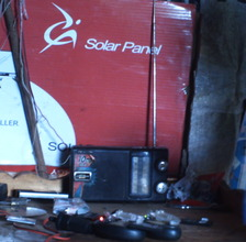 Dennis's project: A business based on solar power